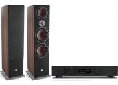 Audiolab 8300A + Dali Oberon 9