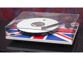 Giradiscos Rega RP1 Union Flag + Project Spin Clean
