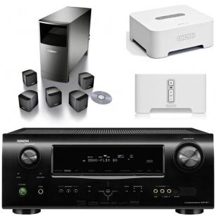 Denon AVR1611 + Bose Acoustimass 6 + Sonos BR100 y ZP90