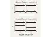 Artesania Audio Reference Doble Tandem Mesa de doble estructura CON baldas