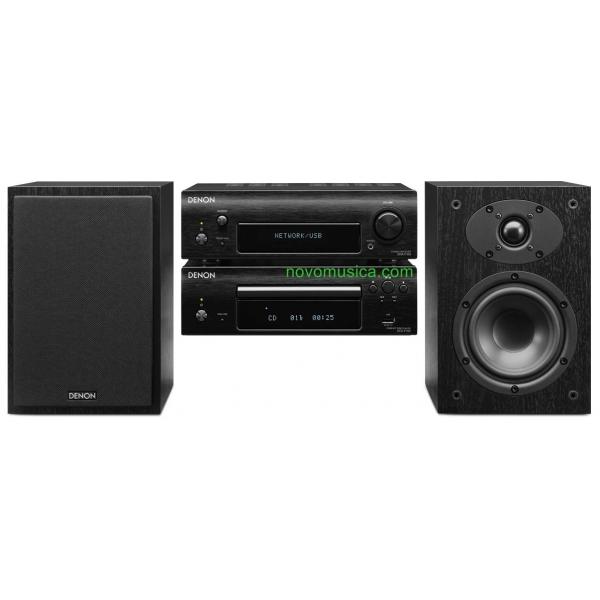 Micro Cadena Denon D-F109 DF109 Equipo sonido 65 Watios, Lector CD, altavoces, e
