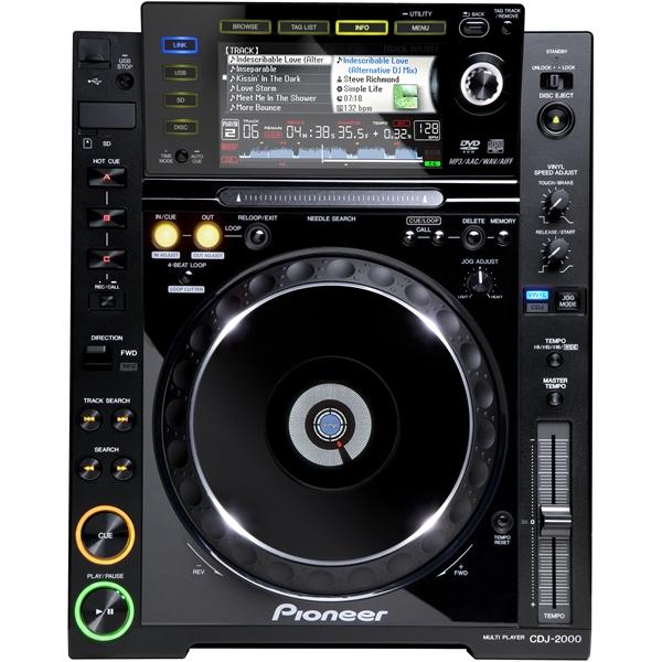 Pioneer CDJ-2000 Garantía Pioneer España! Pincha desde CD, DVD, USB o SD. Con Re