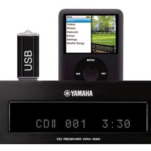 Yamaha MCR-330 Micro Cadena 2x20W. Misma electrónica que la MCR-230 pero altavoc