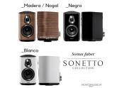 Sonus Faber Sonetto II | Altavoces color Blanco - Negro - Nogal - Wengue| Oferta Comprar