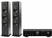 Denon PMA800 + Polk Audio T50