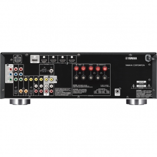 Yamaha RX-V471 receptor AV de 5 canales x 105W. 4 entradas HDMI 1.4 3D y retorno