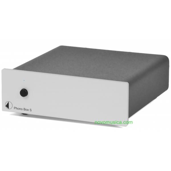 Previo de phono Project Phono Box S configuración dual mono, phono box s, ajuste