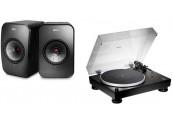 KEF LSX + Audio Technica LP5x